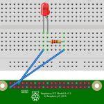 Raspberry Pi, PythonでLチカ 第1回:部品調達とLピカ